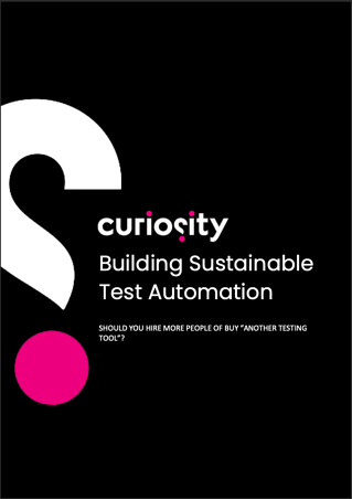 Building Sustainable test automation ebook