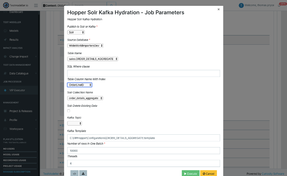 Test Automation for Apache Solr - Automated test data provisioning