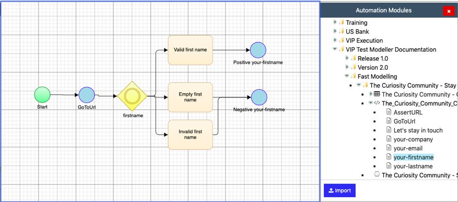 Model-Based UI Test Automation