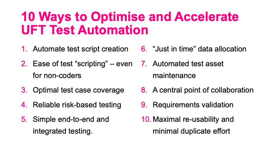 Model-based test automation for UFT